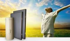 Solar collector basic installation