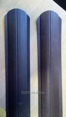 Штакетник металлический двухсторонний матовый