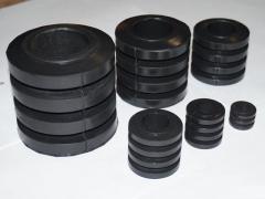 Втулка упруга МУВП 1-100/5 (К-6-38х70,5х95х19)