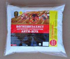 Fire-retardant and bioprotective means