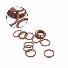 Кольцо резиновое (внутр.диам. 2мм-117мм) толщина 1,9мм FKM (зелен.)