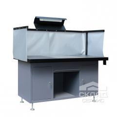 Стол сварщика ССВ-1600 850(h)х1600х820 мм