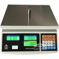 Торговые весы ВТД-СЛI 30 LCD