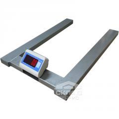 Паллетные весы ВПД-П ПРО 300