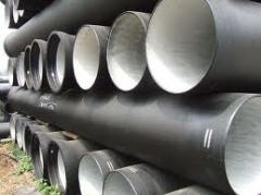Two-flange cast iron pipes always available with