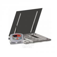 Врезные весы с откидной платформой