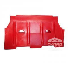 Дорожный блок 1500 1500х800х480 мм красный