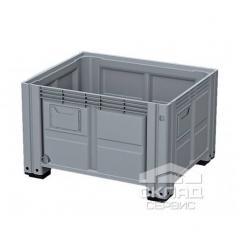 Цельнолитой пластиковый контейнер BigBox сплошной,