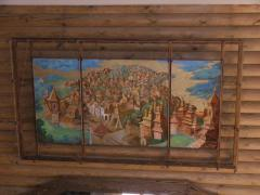 Panel. Interior decor elements. Picture
