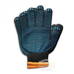 Защитные перчатки 180 текс 4 нити черные