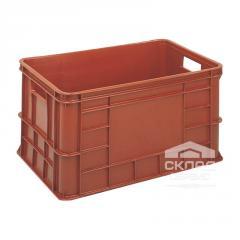 Пластиковый ящик для мяса ОЗТ-50 600х400х324 мм с