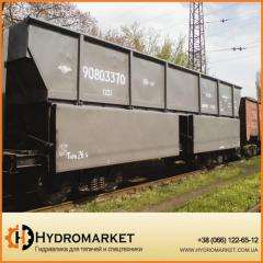 Вагон для угля и др. сыпучих грузов модель