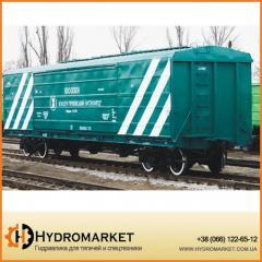 Комбинированный вагон модель 19-795 и 19-795-01