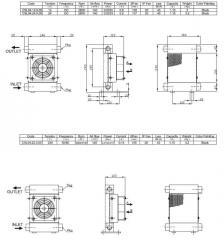 Маслоохладитель воздушный теплообменник, радиатор,