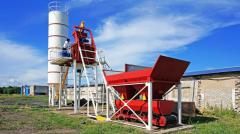 Мини-бетонный завод Бюджет-10 ZZBO