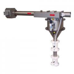 Пневматический сепаратор для сыпучих материалов