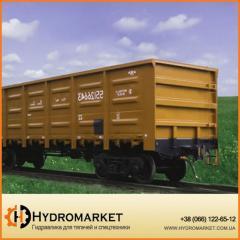Полувагоны модели 12-7039, 12-7039-01 ПАО КВСЗ