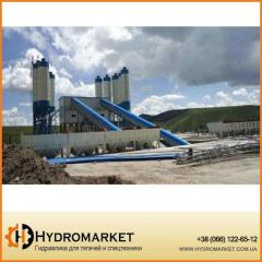 Стационарный бетонный завод HZS 240 «Changli» БСУ,