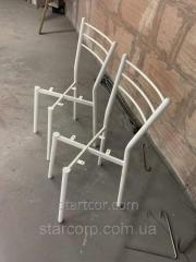 Metal chair in powder painting to order
