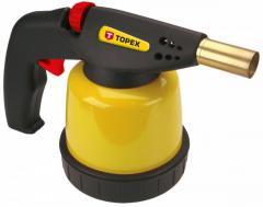 Лампа TOPEX паяльная газовая, картриджи 190 г, с