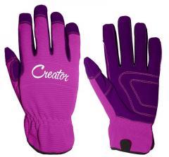 Перчатки рабочие женские TOPEX Creator 8