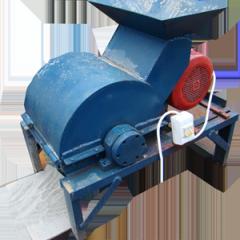 Equipment for crushing of raw materials, crusher
