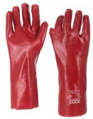 Химически стойкие перчатки