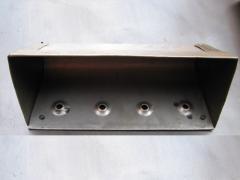 Ковш Н1-150 ЦТ (вылет-120 мм,глуб.-120 мм,объем-1,2л.,толщ.-1,5мм)