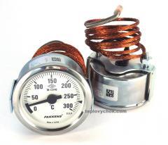 Термометр капиллярный Pakkens 0-300°С L1000mm