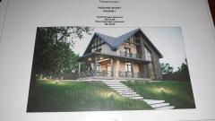 Типовой рабочий проект жилого дома 144м2.