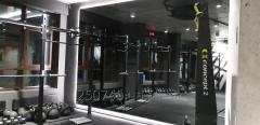 Зеркало графит с подсветкой