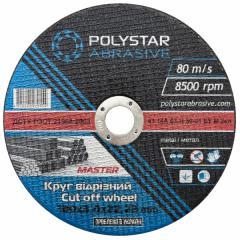 Круг отрезной для металла Polystar 41 14А 180 3,0