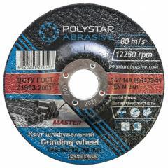 Круг шлифовальный для металла Polystar 27 14A 125