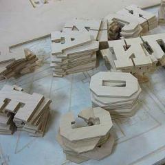 Изготовление деталей световых коробов и объемных