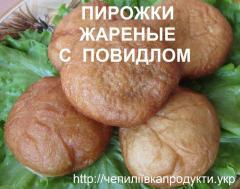 Пирожки с повидлом жареные