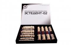 ESTEDENT-02 plastic false teeth