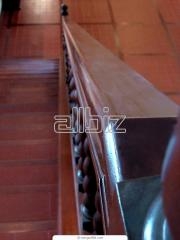Перила, поручни деревянные
