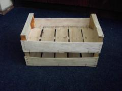Container wooden from the producer