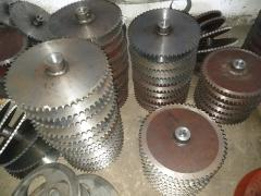 Spare parts for grain loaders