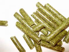 Гранулированная травяная мука из люцерны с