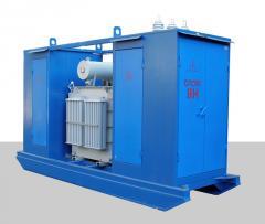 Complete transformer substation mobile TAP 160 ...