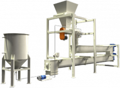 Zařízení pro výrobu  krmivových směsí