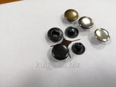 "Кнопки ""Alfa"" 15 мм, оксид"