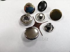 """Кнопки """"Alfa"""" 15 мм, темный никель"""