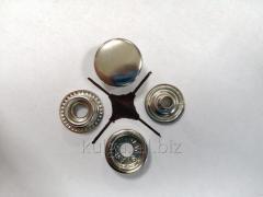 """Кнопки """"№61"""" (КАППА) 15 мм, никель"""