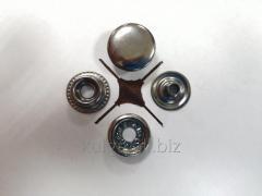 """Кнопки """"№61"""" (КАППА) 15 мм, темный никель"""
