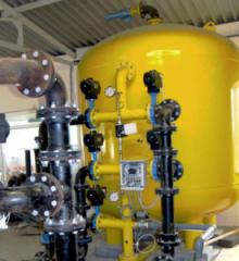 Промышленный напорный вертикальный фильтр  д-м 3