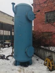 Ресивер 4м3, диаметр -  1.8 м., высота – 4.5 м.,