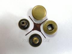 "Кнопки ""Alfa"" 15 мм, антик (НЕРЖАВЕЙКА)"