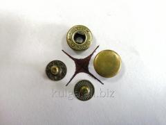 "Кнопки ""Alfa"" 12.5 мм, антик"